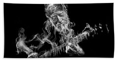 Willie - Up In Smoke Beach Towel