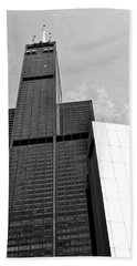 Willis Tower Wedge Beach Towel