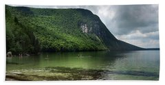 Willoughby Lake In Westmore Vermont Beach Sheet