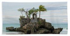Willy's Rock After Yolanda Beach Towel