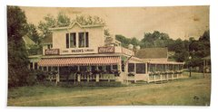 Wilson's Restaurant And Ice Cream Parlor Beach Sheet