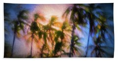 Wind And Palms Beach Towel