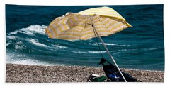 Beach Sheet featuring the photograph Wind  by Bruno Spagnolo