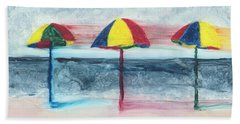 Beach Towel featuring the painting Wind Ensemble by Kathryn Riley Parker