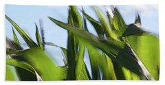 Wind In Corn Leaves 2 -  Beach Sheet