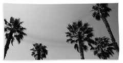 Wind In The Palms- By Linda Woods Beach Towel