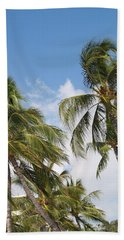 Wind Though The Trees Beach Towel by Athala Carole Bruckner