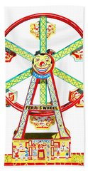 Wind-up Ferris Wheel Beach Towel