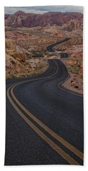 Winding Road Beach Towel