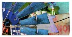 Windmill 3 Beach Towel