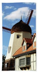 Windmill At Solvang, California Beach Sheet