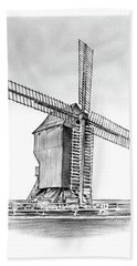 Windmill At Valmy Beach Towel