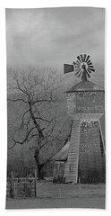 Windmill Of Old Beach Towel