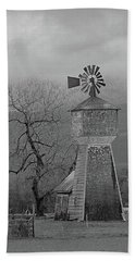 Windmill Of Old Beach Towel