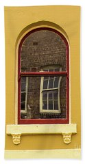 Beach Towel featuring the photograph Window And Window 2 by Perry Webster