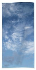 Beach Towel featuring the photograph Window On The Sky In Israel During The Winter by Yoel Koskas