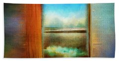 Window To Anywhere Beach Sheet