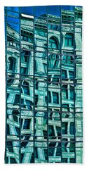 Windows In Windows Beach Towel
