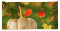 Winds Of Autumn Beach Sheet