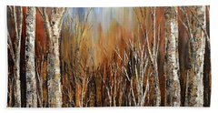 Winds Of Autumn Beach Towel