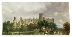 Windsor Castle - From The Thames Beach Towel