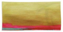 Windswept Sunrise- Art By Linda Woods Beach Towel