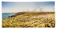 Windswept Tasmania Beach Towel