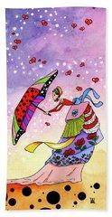 Windy Days Beach Towel by Dawnstarstudios
