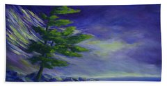 Windy Lake Superior Beach Towel