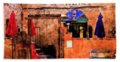 Beach Sheet featuring the photograph Wine Bar Of The Southwest by Barbara Chichester