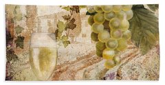 Wine Country Alsace Beach Towel