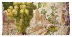 Wine Country Rhone Beach Towel