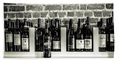 Beach Towel featuring the photograph Wine Iv by Randy Bayne