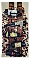 Wine Rack Beach Towel