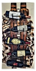 Wine Rack Beach Towel