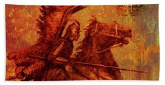 Winged Hussar 2016 Beach Towel