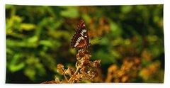 Wingo Butterfly Beach Towel