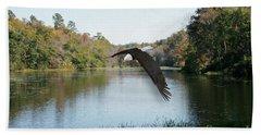Wings Like Eagles Beach Towel