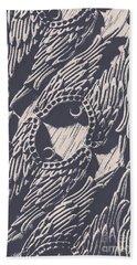 Wings Of Classical Artform Beach Towel