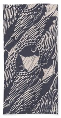 Wings Of Classical Artform Beach Towel