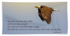 Wings Of Eagles Beach Towel