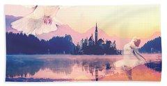 Wings Of Grace Beach Sheet