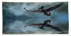 Wings Up Beach Sheet by Cyndy Doty