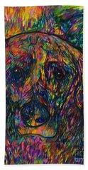 Winnie The Dog Beach Towel