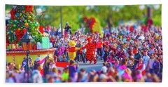 Beach Towel featuring the photograph Winnie The Pooh And Tigger by Mark Andrew Thomas
