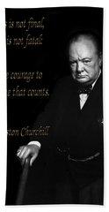Winston Churchill 1 Beach Sheet