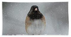 Winter - 365-337 Beach Towel by Inge Riis McDonald
