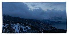 Beach Sheet featuring the photograph Winter At Diamond Peak by Sean Sarsfield