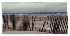 Winter At The Beach Beach Sheet