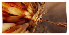 Beach Towel featuring the photograph Winter Berries by Keith Elliott
